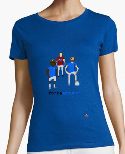 Tee-shirt pixelart italie femme