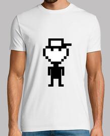 Pixelman grande - Camiseta