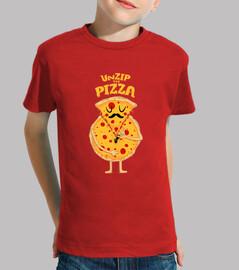 Pizza-Reißverschluss