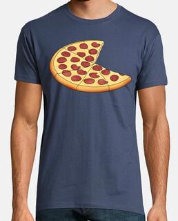 pizza - uomo, manica corta, denim, qualità extra