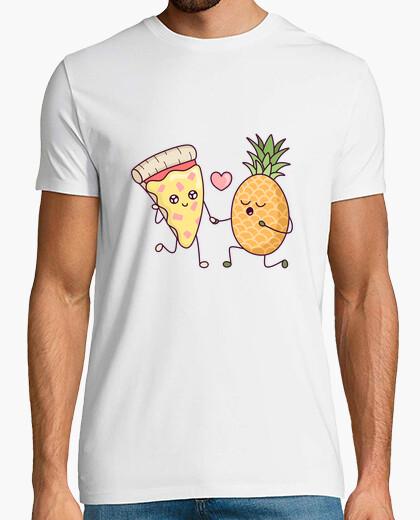 T-shirt pizza con ananas: una storia d39 amore