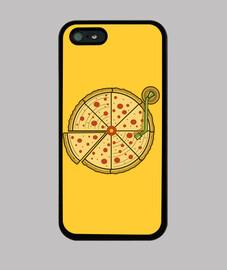 pizza de vinilo