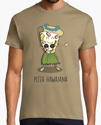 T-shirt pizza hawaiana