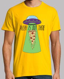 pizza ist da draußen