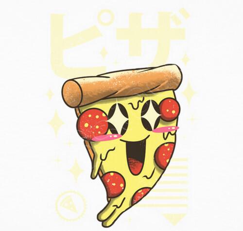 Hoodie Kawaii Pizza Tostadorade