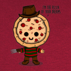 Camisetas Pizza Krueger