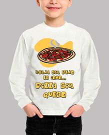Pizza sin queso