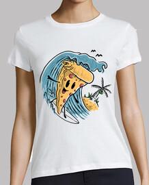 pizza surfeando