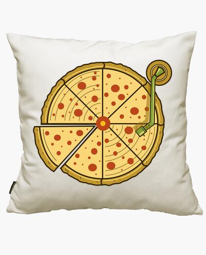 Housse de coussin pizza vinyle