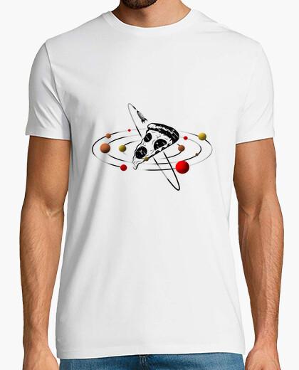 T-Shirt Pizza weltraum