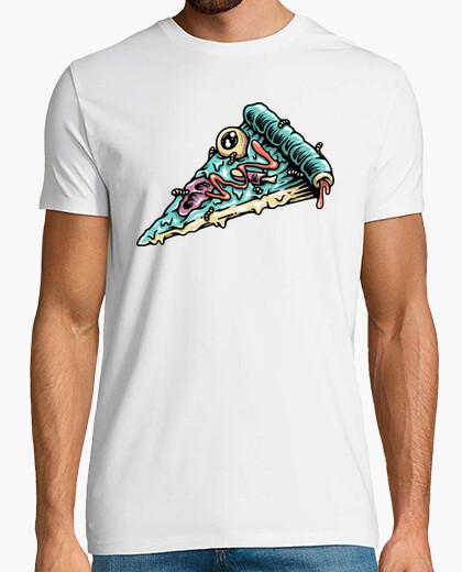 Tee-shirt pizza zombie