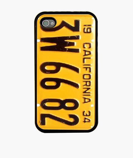 Funda iPhone Placa de matrícula de California