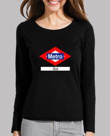 Placa de Metro estación de Sol