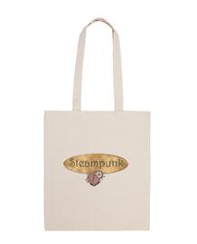 Placa Steampunk - Bolsa