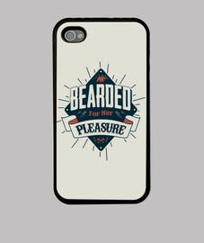placer barba para su iphone 4
