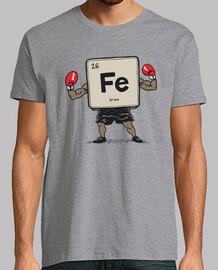 planchar la camisa boxer para hombre