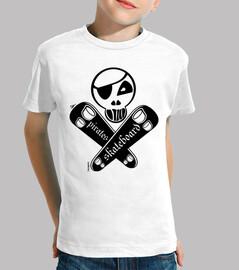 planche à roulettes pirate