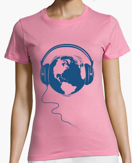 Camiseta Planet audio