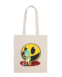 planet Pac-Man tote bag