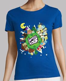 planet splash by mr. tony - women's t-shirt