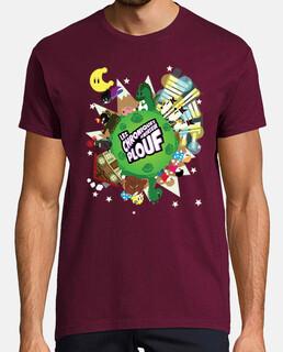 planeta splash por mr. tony - camiseta de hombre