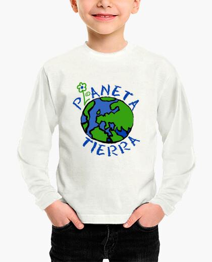 Ropa infantil Planeta Tierra