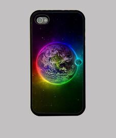 Planeta Tierra colorido