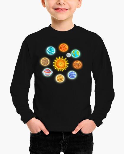 Ropa infantil planetas
