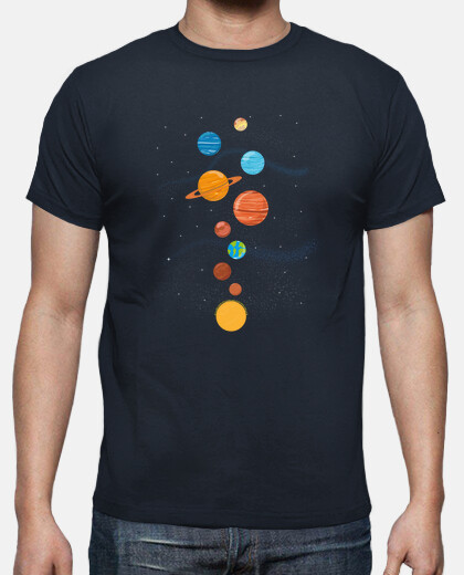planets solar system cute illustration apparel galaxy cosmic