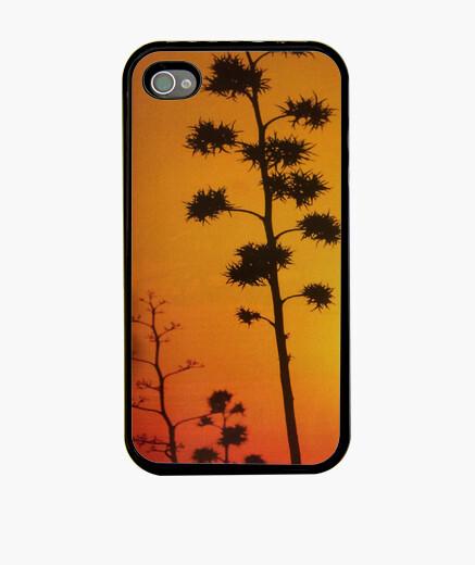Funda iPhone Plantas al amanecer
