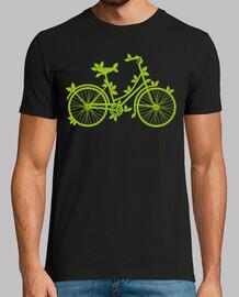 Plantas en la bicicleta