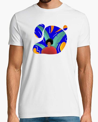 Camiseta Plantas Tropical