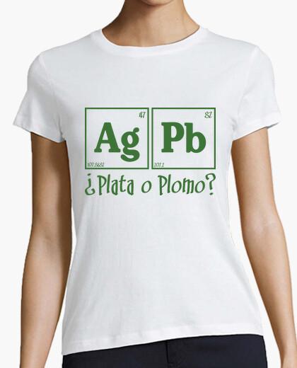 Tee-shirt Plata o Plomo