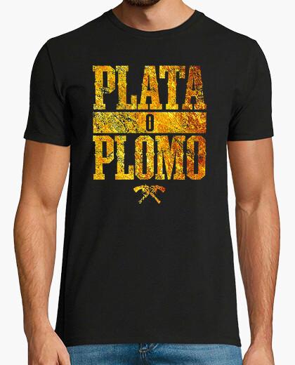 Tee-shirt Plata o Plomo (Argent ou Plomb) - Pablo Escobar