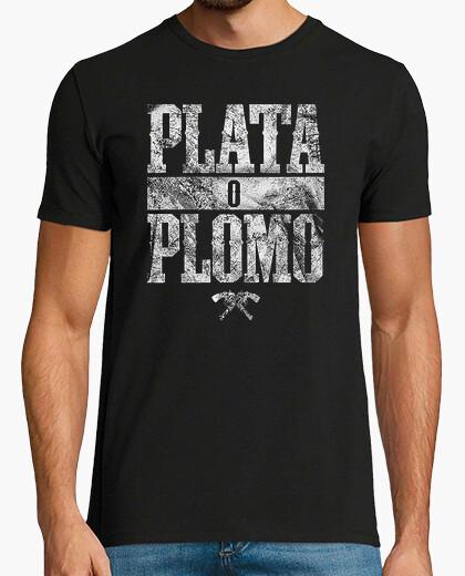 T-shirt Plata o Plomo (Argento o Piombo) - Pablo Escobar