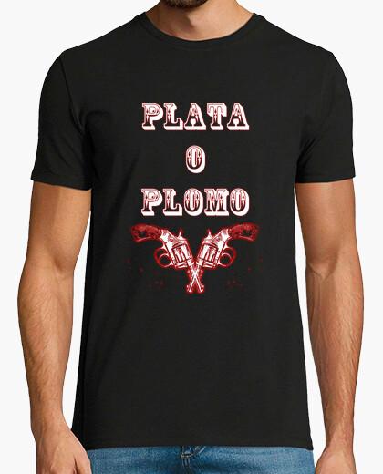 Camiseta Plata o plomo Pablo Escobar