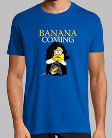 plátano se acerca!