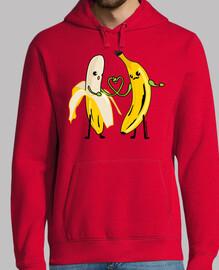 Plátanos enamorados
