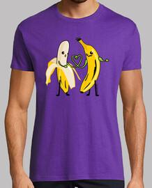 Plátanos enamorados amor chico chico