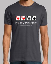 Play Poker (Letras Blancas)