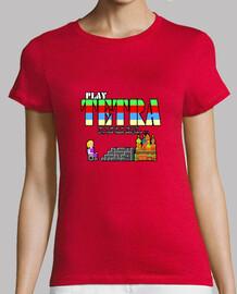PLAY TETRA 01. Camiseta manga corta mujer
