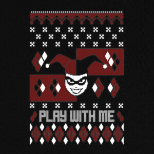 Camisetas Play with Me ugly Sweater