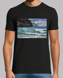 Playa azul turquesa
