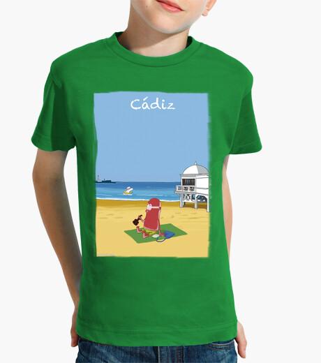 Ropa infantil Playa de la Caleta by Calvichis