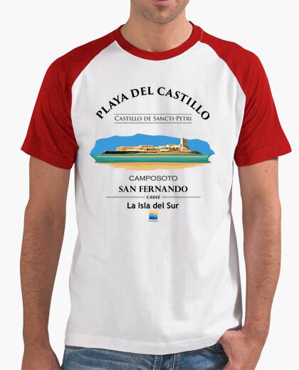 Camiseta Playa del Castillo - Camposoto - Castillo de Sancti-Petri -San Fernando