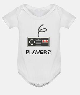 player 2, baby, gaming