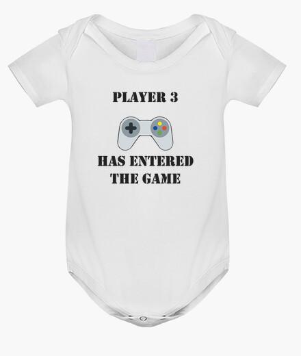 Ropa infantil player 3 has entered the game / jugador