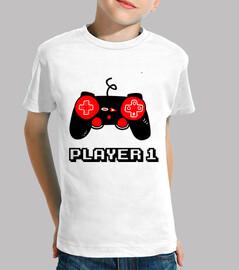player one, geek, gaming, gamern, nerd