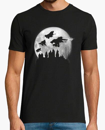 Tee-shirt pleine lune sur poudlard