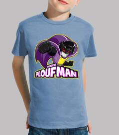 ploufman by quynzel - kids t-shirt